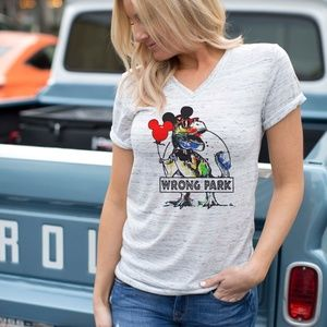 NWT Vacation Wrong Park Women's Graphic Tee Shirt